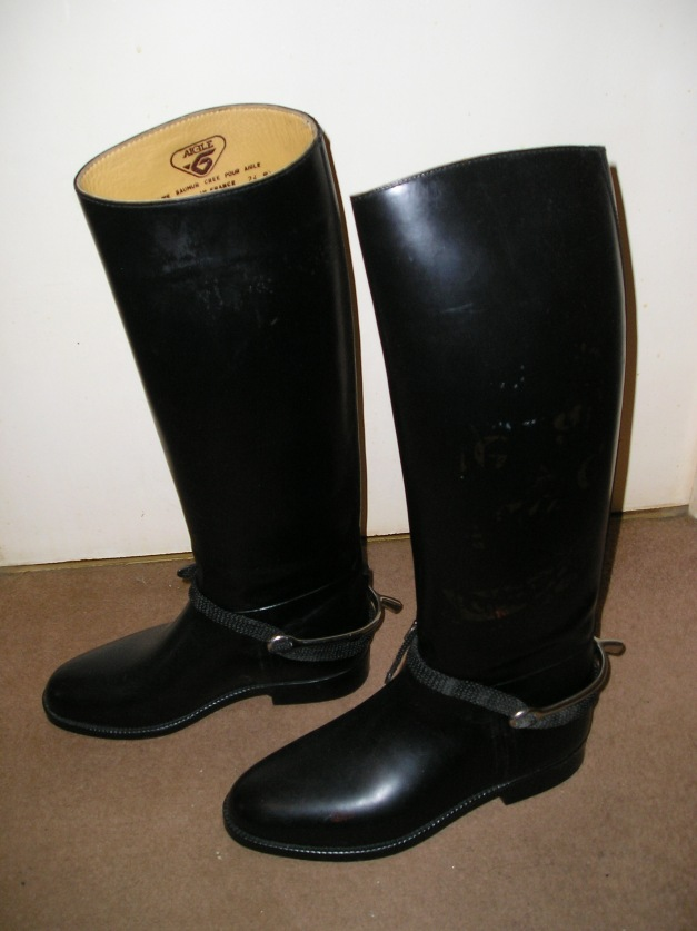Instructor's boots
